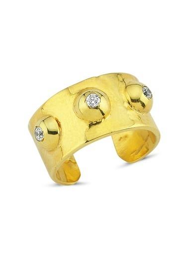 Reian Jewelry Troya Classıc Rıng Yüzük Altın